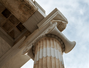 part of the Parthenon column