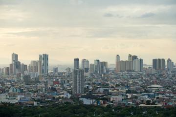 Cityscape of Manila, Philippines.