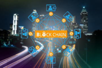 Block chain network ,  a cryptographically secured chain