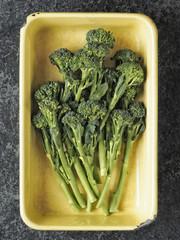 tray of broccolini