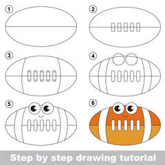 Drawing tutorial for preschool children.