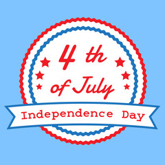 The fourth of July, American Independence Day