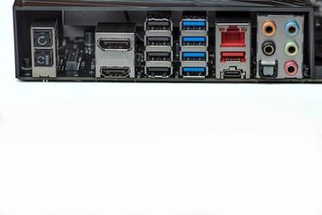 Computer Motherboard Anschlüsse