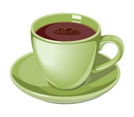 coffee cup drink vector illustration design