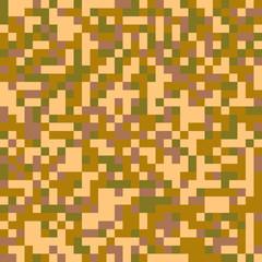 Trendy Seamless digital pixel camouflage pattern