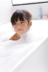 Girl Having Bath