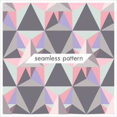 Vector seamless geometrical patterns. Abstract fashion texture. Graphic style for wallpaper, wrapping, fabric, background, apparel, prints, website etc.