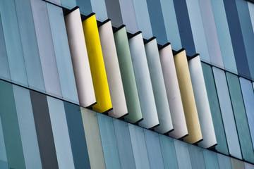 Milan (Italy): modern office buildings