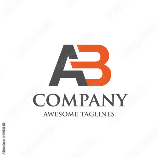 Creative letter ab logo abstract business logo design template creative letter ab logo abstract business logo design template modern letter ab logo template flashek Images