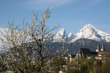 Frühling in Berchtesgaden