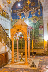 Holy Sepulchre Church Armenian shrine