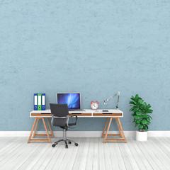 Home Office / Büro / 3d