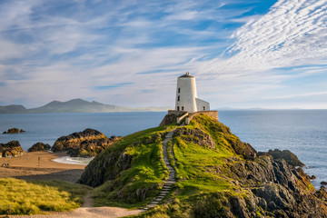 Photo sur Aluminium Phare Llanddwyn island lighthouse