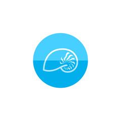 Circle icon - Nautilus
