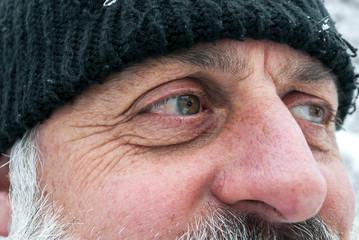 Senior eyes