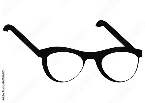 Eyeglass Frame Vector :