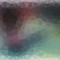 vector multicolor dark shade geometric rumpled triangular low poly style gradient illustration graphic