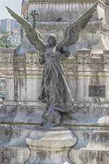 Symbol of Portugal Empire - statue of angel with cross (Portugal)