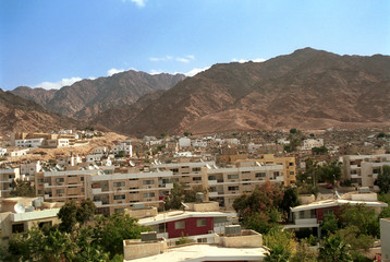 View of Aqaba, Jordan