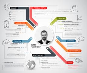 Original creative cv / resume template