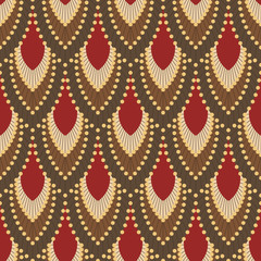 Seamless pattern in Art Deco style 5