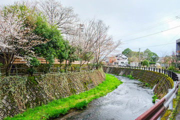 Yufuin was a town located in Oita District, Oita Prefecture, Japan. It is famous for natural hot spring spas.
