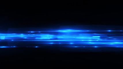 Beautiful light flares. Glowing streaks dark background. Luminous abstract sparkling lined background. .light effect wallpaper. Elegant style. Web concept virtual cyberspace structure