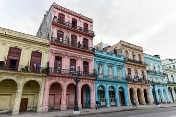 Printed roller blinds Havana Paseo del Prado, Havana