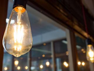 カフェの電飾