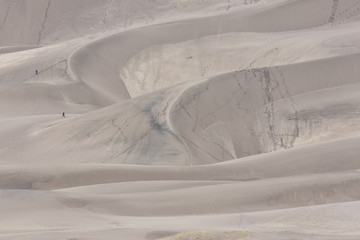 Natural Patterns at Great Sand Dunes National Park in Colorado