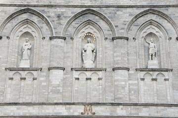 Notre Dame Basilica Facade - Montreal - Canada