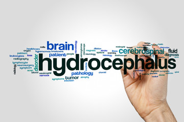 Hydrocephalus word cloud concept