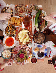 Traditional Ukrainian Christmas food
