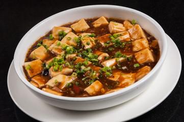 Tofu with Mushrooms Sauce