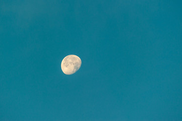 Background of sky cloud and moon