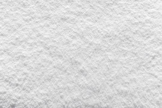 Background texture of fresh white winter snow
