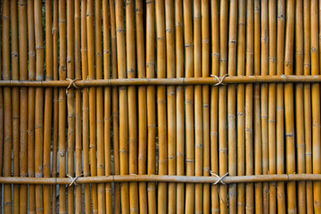 bamboo, background, texture, wall, pattern, fence, natural, nature, old, wood, textured, yellow, decoration, plant, organic, grunge, decor, line, tropical, asian, japanese, asia, tree, japan, zen;