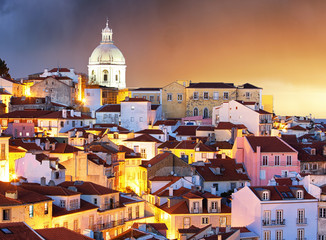 Portugal, Lisbon - Old city Alfama