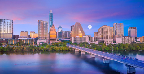 Downtown Skyline of Austin, Texas