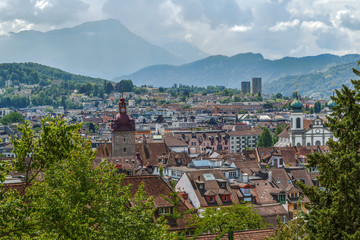 View of Lucerne, Switzerland