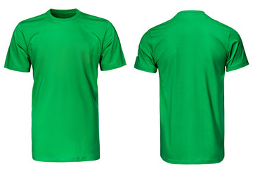 Green t-shirt, clothes Wall mural