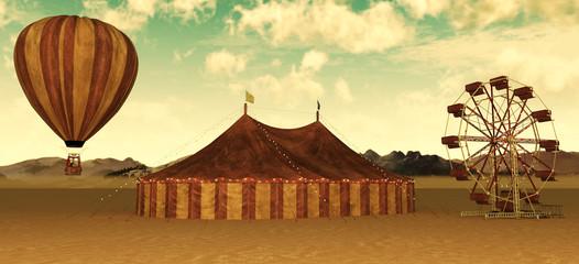Retro Circus theme