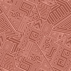 Aztec Vector Seamless Pattern