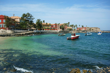 Ile de Goree Island, one of the earliest European settlements in Western Africa, Dakar, Senegal