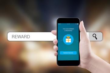 Concept mobile reward