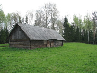 old barn in country
