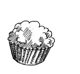cupcake concept illustratie