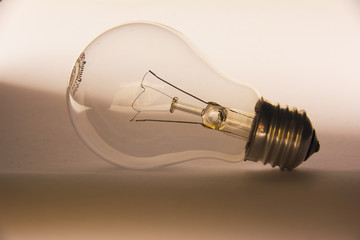 light bulb composition photography