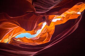 Canvas Prints Magenta Antelope Canyon, Arizona, USA
