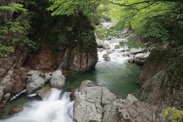 Sandan-kyo river